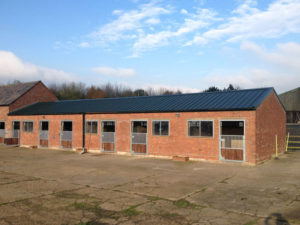 Brick Stables with new roof