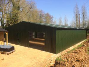 Yard in fill Agricultural Building in Juniper Green