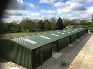 Our longest in length building installed to date at 60m long