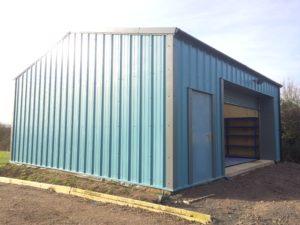 Small blue workshop