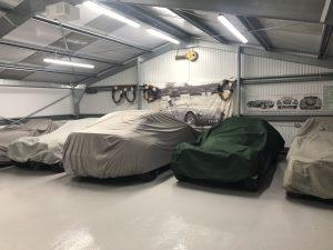 Internal private garage car store